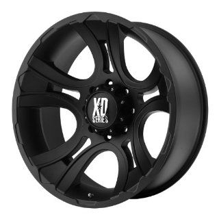 17x9 KMC XD Crank (Matte Black) Wheels/Rims 8x180 (XD80179088700