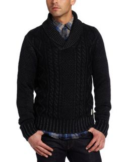 Scotch & Soda Mens Shawl Collar Pullover Sweater