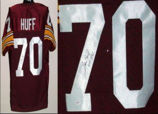Sam Huff Signed Autographed Washington Redskins Jersey JSA
