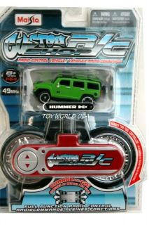 Maisto Custom R C Shop Hummer H3 Green