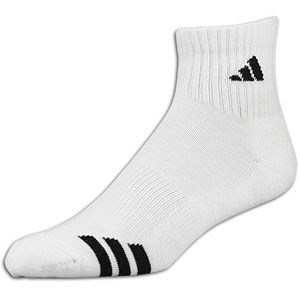 adidas 3 Stripe 3 Pack Quarter Sock   Mens   Basketball   Accessories