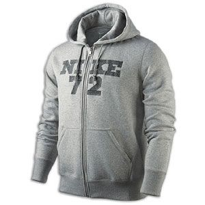 Nike Classic Fleece JDI 72 Full Zip Hoodie   Mens   Casual   Clothing