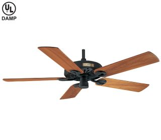 Hunter 52 Original Black Outdoor Ceiling Fan 25601