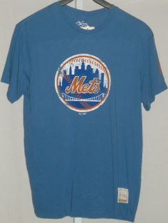 New York Mets Baseball T Shirt Light Blue