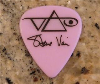 Ibanez 5 Steve Vai Jem Guitar Picks Pick Plectrum Pink