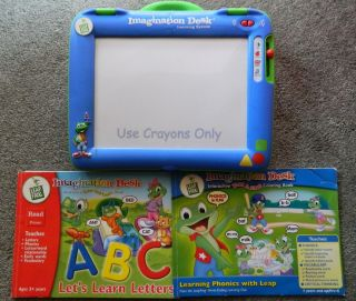 Leap Frog Imagination Desk Color & Learn System coloring pages ABC