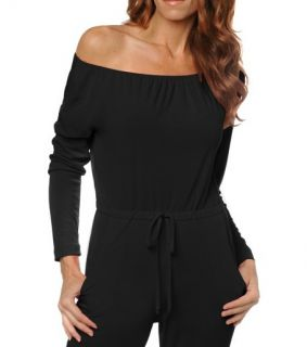 IMAN Global Chic Fabulously Fit Luxury Jumpsuit Blk 2X