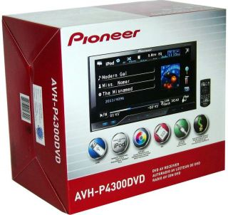 Pioneer AVH P4300DVD 7 Touch Screen DVD USB Car Player with