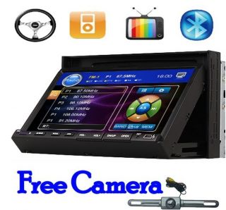 No GPS 7 in Dash Touch Screen Car Stereo DVD CD VCD  Player Radio