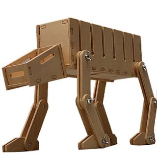 USD $ 43.19   Robot Dog Shaped DIY Wooden Electric Wire Organizer