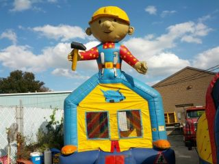 Bob The Builder Inflatable Bounce House