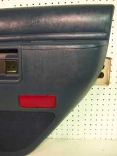 Ford Explorer 4 Door Interior Door Panel Rear Power