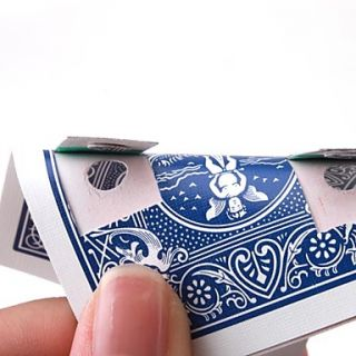 USD $ 7.59   Moving Hole Magic Poker Party Magic Tricks Prop and