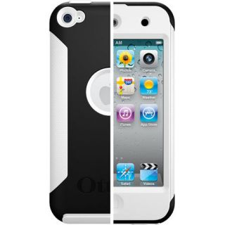 OTTERBOX COMMUTER CASE APPLE iPOD TOUCH 4th GEN BLACK WHITE 8GB 16GB