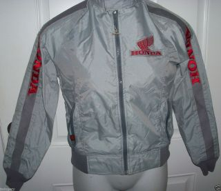 MENS HONDA HONDALINE MOTORCYCLE WINDBREAKER COLLECTIBLE LITE WEIGHT