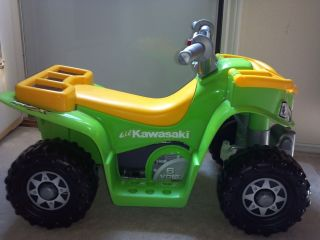 Fisher Price Power Wheels LiL Kawasaki Boys Quad ATV