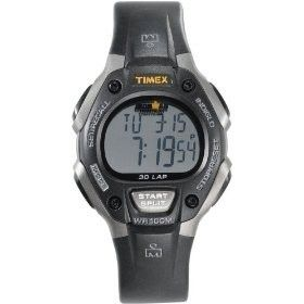 Timex Ironman Triathlon 30 Lap Memory Fitness Sports Mens Watch Resin