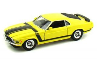 1970 Ford Mustang Boss 302 Hard Top 1 24 Scale Diecast Model Car