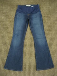 Brand Maternity Jeans Classic Stretch Flare Dark Blue Size 29 Small