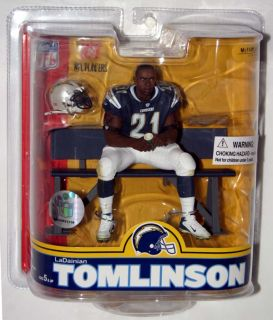 NFL SERIES 16 FOOTBALL LaDAINIAN TOMLINSON SAN DIEGO CHARGERS FIGURE