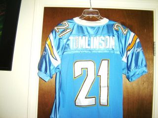 Vtg Ladainian Tomlinson SAN DIEGO CHARGERS NFL Jersey Throwback 21