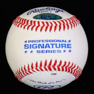 Jeff Bagwell Signed Autographed Official Baseball Astros Tristar