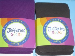 Pairs Jefferies Socks 8 10 Years Pink Blue Brown Purple Girls Kids
