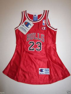 Michael Jordan Chicago Bulls Toddler Jersey Dress 3T