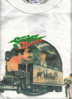 Bandit 1973 Kenworth Truck Trailer Jerry Reed New T Shirt XL