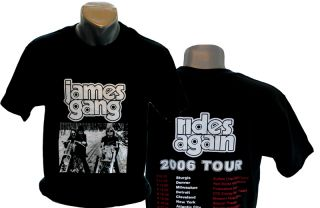 James Gang 2006 Tour Shirt James Gang Joe Walsh Eagles