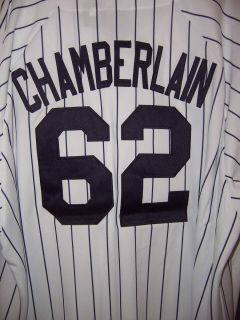 JOBA CHAMBERLAIN New York YANKEES Baseball Home JERSEY MLB WHITE SHIRT