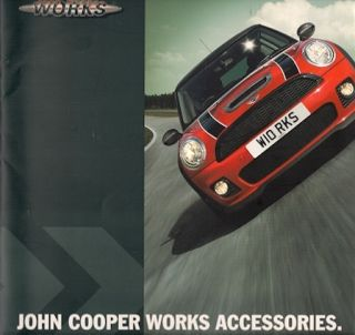 Mini John Cooper Works Accessories 2006 07 UK Brochure