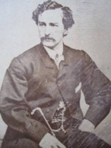 Civil War Era Lincoln Assassin John Wilkes Booth CDV c1860