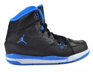 Jordan SC 1 PS Preschool Kids Basketball Shoes Black Blue White 407494 017