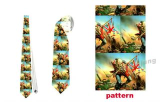 New Necktie Neck Tie Iron Maiden The Trooper NT038