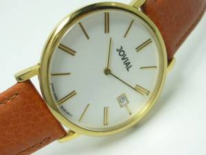 Vintage Jovial 5ATM Swiss Made Men Quartz Watch
