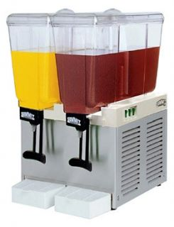 Summit Commercial Juice Dispenser Dual Tank BBS2