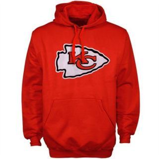 NFL Kansas City Chiefs Mens Playbook Fleece Pullover Hoodie Hooded