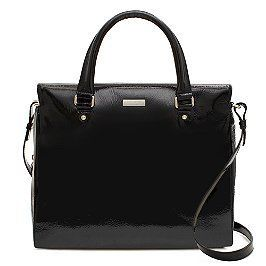 NWT Kate Spade NY Black Patent Leather Cooper Square Katarina Satchel