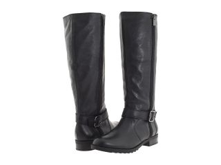 Kenneth Cole Reaction Womens Skinny Love Leather Hi Zipup Riding Boots