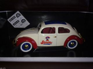 17 SOLIDO VOLKSWAGEN BEETLE SAROTTI CHOCOLATE PROMO CAR VW