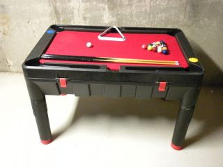 Hedstrom Kids Multi Game Table 18 in 1 Pool Hockey Basketball Bowling