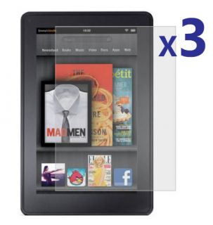 Kindle Fire Clear LCD Screen Protector Film Cover Shield Guard
