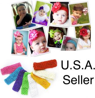 Newborn Baby Girl Toddler Headband Hair Accessories