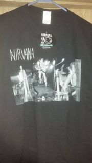 Nirvana Kurt Cobain Krist Novoselic Dave Grohl Foo Fighters T Shirt