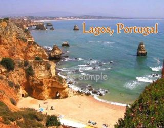 Portugal Lagos Travel Souvenir Fridge Magnet