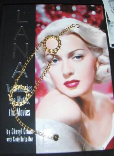 Lana Turner Owned Faux Gold Chain Link Boot Bracelet