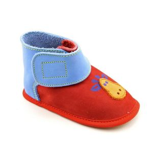 Lamour 27154 Infant Baby Boys Size 2 Red Synthetic Booties Shoes