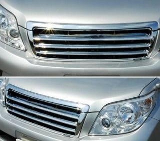 2009 2010 2011 2012 Toyota Land Cruiser Prado Chrome Front Grille 150