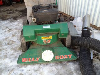 Billy Goat Lawn Vacuum with Hose Kit